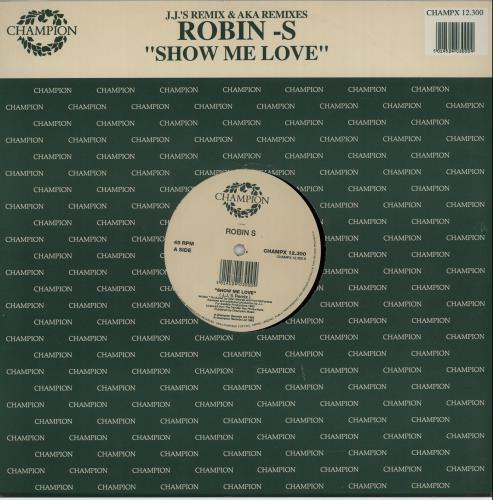 Robin S Show Me Love Remixes UK 12