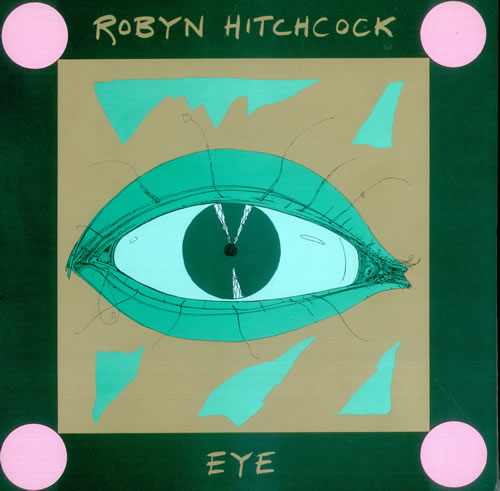 Robyn Hitchcock Eye vinyl LP album (LP record) US RHILPEY436574