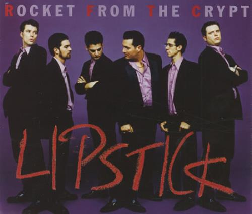 Rocket From The Crypt Lipstick 2-CD single set (Double CD single) UK RFC2SLI292766
