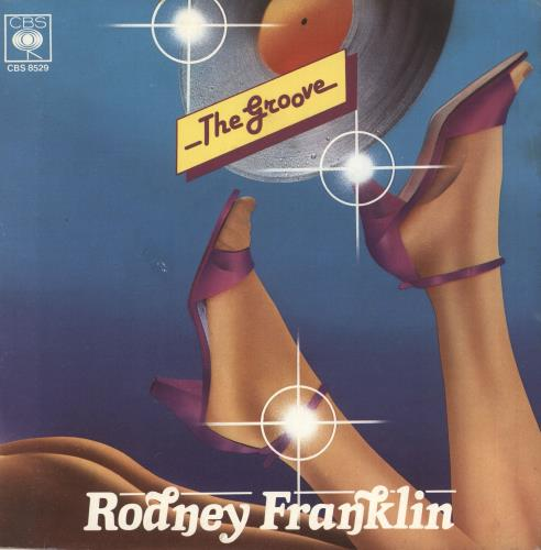 "Rodney Franklin The Groove 7"" vinyl single (7 inch record) Italian R8707TH741686"