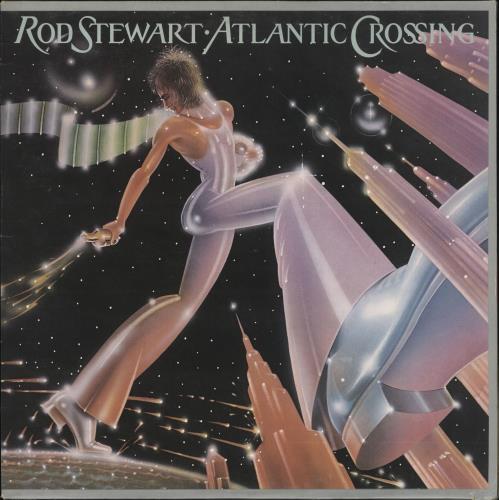 Rod Stewart Atlantic Crossing vinyl LP album (LP record) UK RODLPAT378789