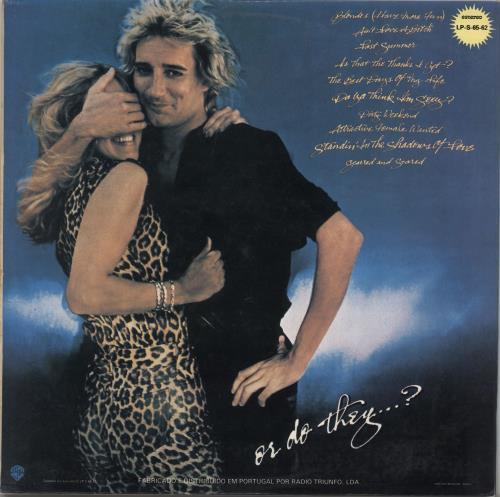 Rod Stewart Blondes Have More Fun vinyl LP album (LP record) Portugese RODLPBL766812