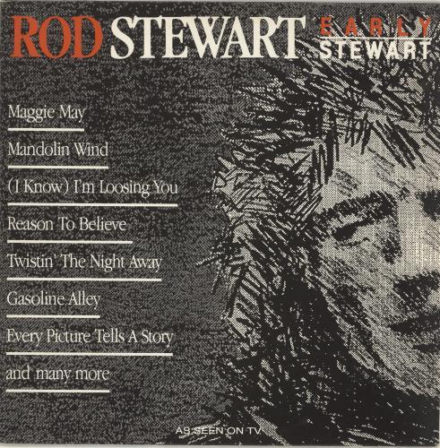 Rod Stewart Early Stewart vinyl LP album (LP record) Dutch RODLPEA691799