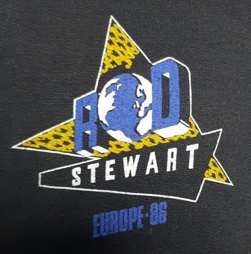 Rod Stewart Europe '86 - Sweatshirt clothing UK RODMCEU678117