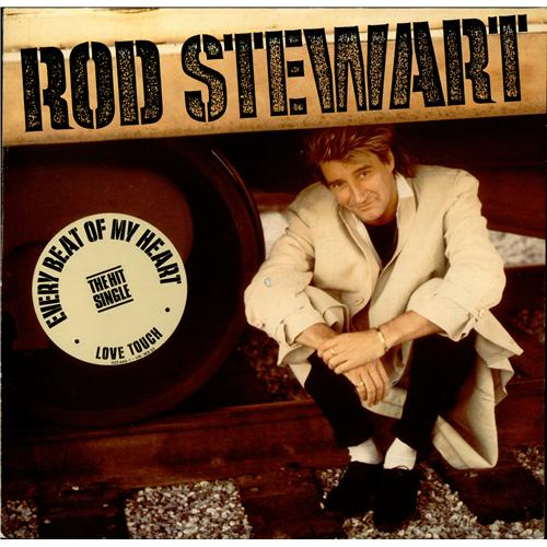 Rod Stewart Every Beat Of My Heart vinyl LP album (LP record) UK RODLPEV418550