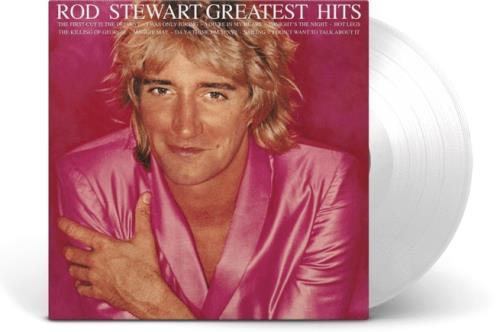 Rod Stewart Greatest Hits Vol. 1 - NAD 2020 - 140 gm White Vinyl vinyl LP album (LP record) UK RODLPGR753884