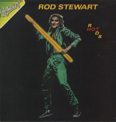 Rod Stewart Hot Rods vinyl LP album (LP record) UK RODLPHO441755