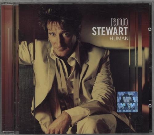Rod Stewart Human CD album (CDLP) German RODCDHU752253