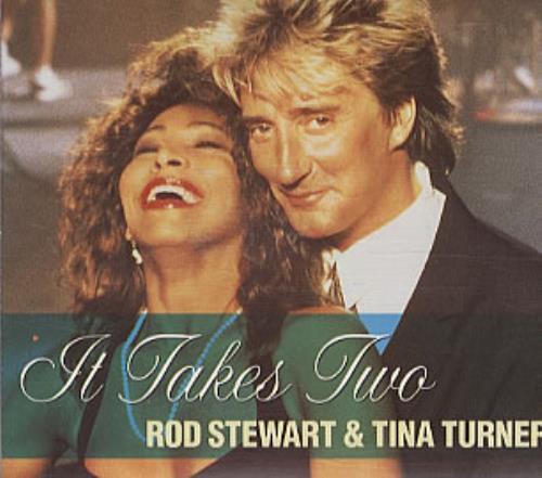 "Rod Stewart It Takes Two CD single (CD5 / 5"") UK RODC5IT21590"