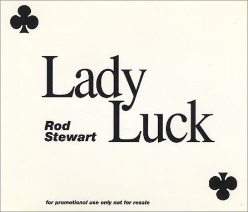 "Rod Stewart Lady Luck CD single (CD5 / 5"") UK RODC5LA49595"