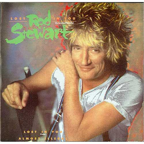 "Rod Stewart Lost In You 12"" vinyl single (12 inch record / Maxi-single) UK ROD12LO116508"