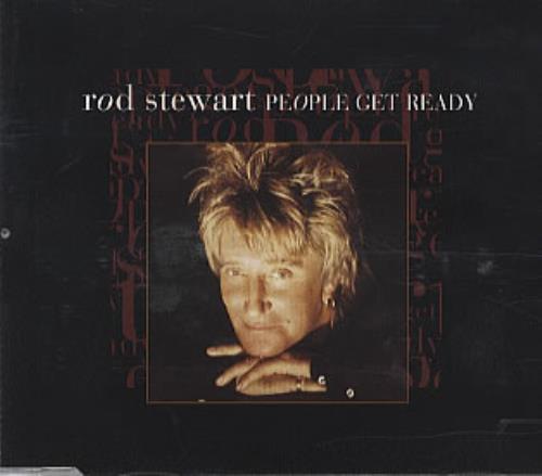 "Rod Stewart People Get Ready CD single (CD5 / 5"") UK RODC5PE104787"