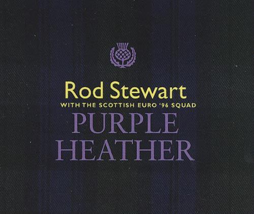 """Rod Stewart Purple Heather CD single (CD5 / 5"""") UK RODC5PU99106"""