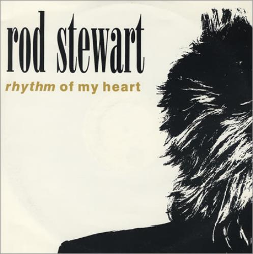 "Rod Stewart Rhythm Of My Heart 12"" vinyl single (12 inch record / Maxi-single) UK ROD12RH55044"