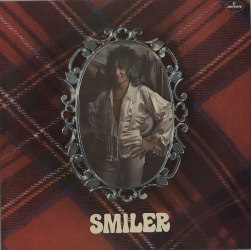Rod Stewart Smiler vinyl LP album (LP record) UK RODLPSM371826