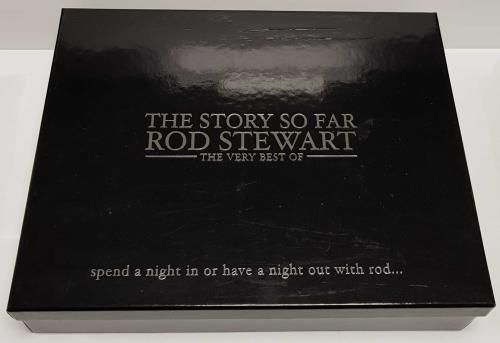 Rod Stewart The Story So Far: The Very Best Of CD Album Box Set UK RODDXTH226989