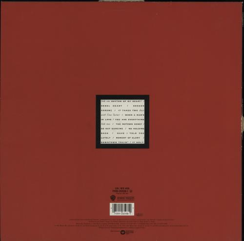 Rod Stewart Vagabond Heart - Hype stickered vinyl LP album (LP record) UK RODLPVA757471