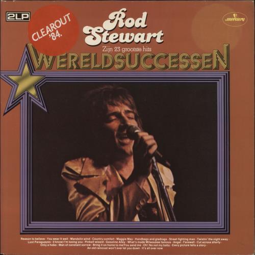 Rod Stewart Wereldsuccessen 2-LP vinyl record set (Double Album) Dutch ROD2LWE708380