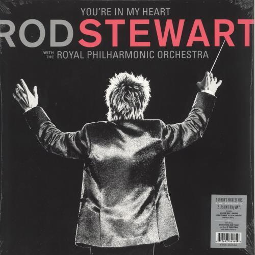Rod Stewart You're In My Heart - 180 Gram - Sealed 2-LP vinyl record set (Double Album) UK ROD2LYO745384