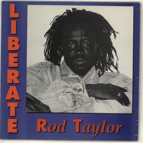 Rod Taylor Liberate vinyl LP album (LP record) UK RT2LPLI715869