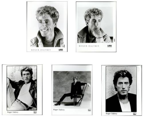 Roger Daltrey Collection Of 6 Publicity Photographs photograph UK RGDPHCO510674