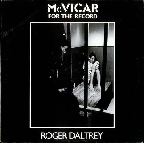 Roger Daltrey McVicar - For The Record vinyl LP album (LP record) UK RGDLPMC520512