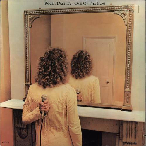 Roger Daltrey One Of The Boys vinyl LP album (LP record) US RGDLPON765820