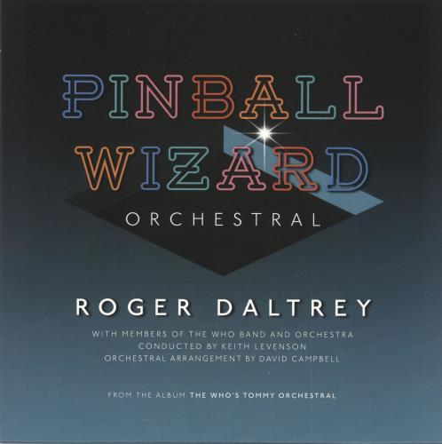 """Roger Daltrey The Who's Tommy Orchestral - Autographed + Ltd Blue Vinyl 7"""" 2-LP vinyl record set (Double Album) UK RGD2LTH731037"""