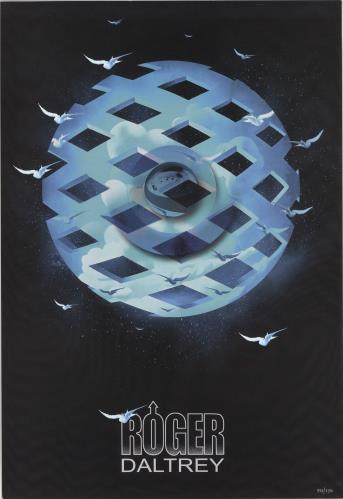 Roger Daltrey Tommy Numbered Print poster UK RGDPOTO730046
