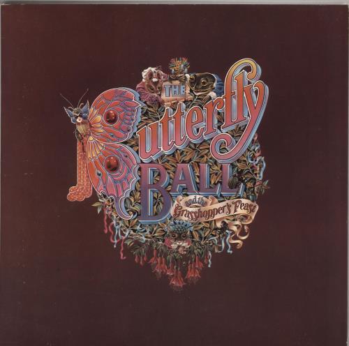 Roger Glover The Butterfly Ball And The Grasshopper's Feast vinyl LP album (LP record) UK RGVLPTH724801
