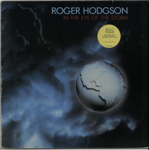 Roger Hodgson In The Eye Of The Storm - Stickered vinyl LP album (LP record) UK RGHLPIN655659