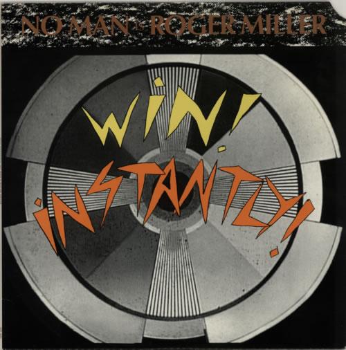 Roger Miller (80s) Win! Instantly! vinyl LP album (LP record) US R8GLPWI591903