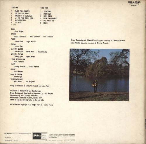 Roger Morris First Album vinyl LP album (LP record) UK RR4LPFI712852