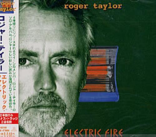 Roger Taylor Electric Fire - Sealed CD album (CDLP) Japanese ROGCDEL149036