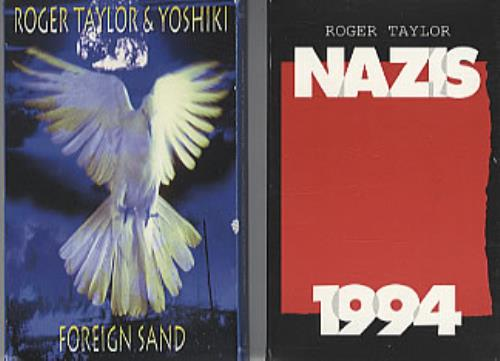 Roger Taylor Foreign Sand/Nazis 1994 cassette single UK ROGCMFO329161