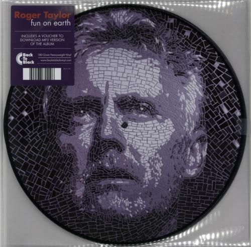 Roger Taylor Fun On Earth - RSD14 picture disc LP (vinyl picture disc album) UK ROGPDFU602706