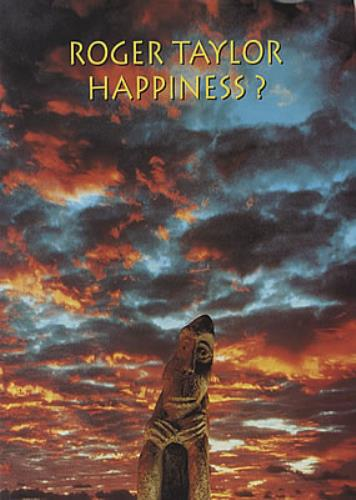 Roger Taylor Happiness? tour programme UK ROGTRHA37182