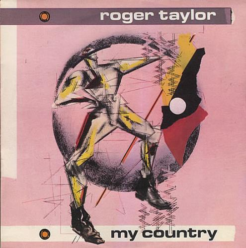 "Roger Taylor My Country 7"" vinyl single (7 inch record) UK ROG07MY03519"