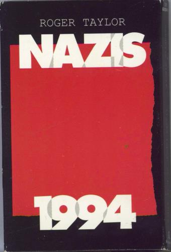 Roger Taylor Nazis 1994 cassette single UK ROGCSNA28489