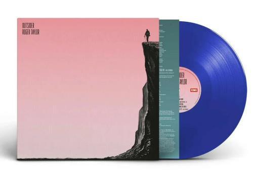 Roger Taylor Outsider - Indie Exclusive Transparent Blue Vinyl - Sealed vinyl LP album (LP record) UK ROGLPOU776408