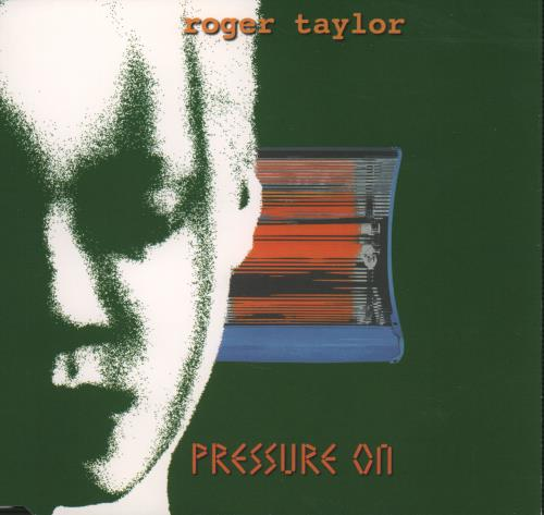 "Roger Taylor Pressure On CD single (CD5 / 5"") UK ROGC5PR121358"