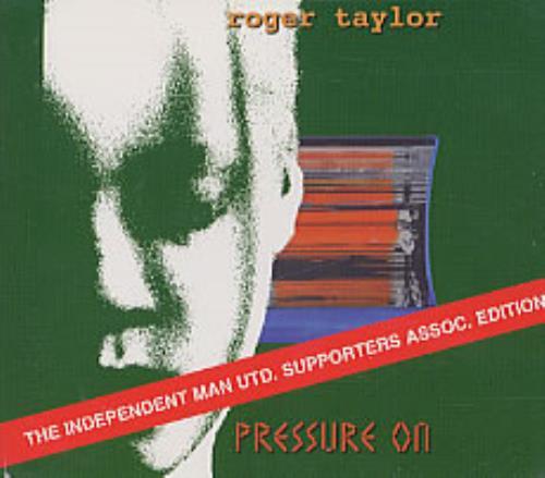 "Roger Taylor Pressure On CD single (CD5 / 5"") UK ROGC5PR217583"