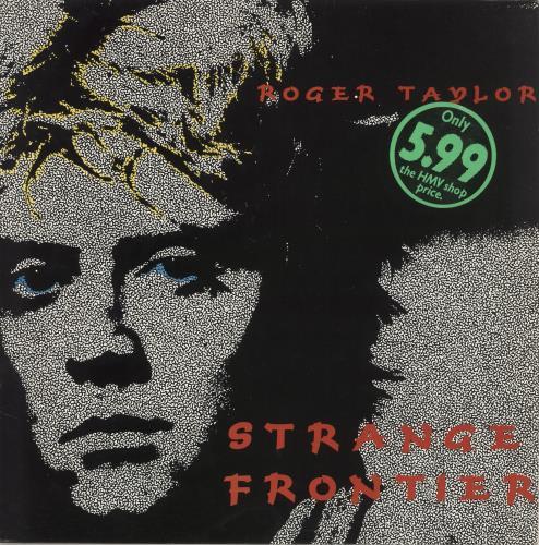 Roger Taylor Strange Frontier vinyl LP album (LP record) UK ROGLPST17406