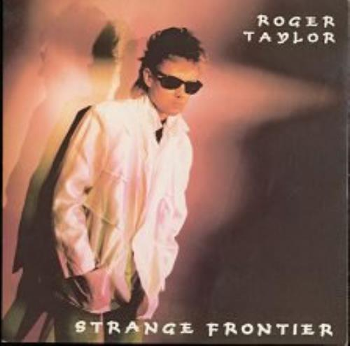 "Roger Taylor Strange Frontier 7"" vinyl single (7 inch record) UK ROG07ST08428"