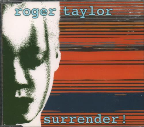 "Roger Taylor Surrender! CD single (CD5 / 5"") UK ROGC5SU132568"
