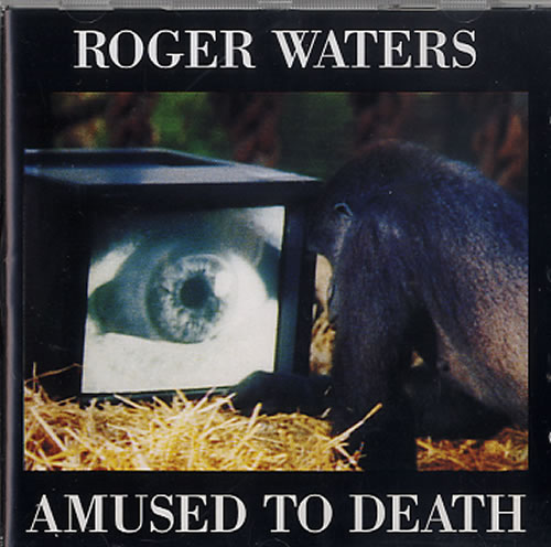 Roger Waters Amused To Death CD album (CDLP) UK RWACDAM619342