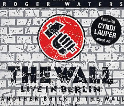 """Roger Waters Another Brick In The Wall CD single (CD5 / 5"""") UK RWAC5AN104905"""