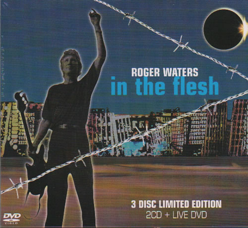 Roger Waters In The Flesh - Sealed 3-disc CD/DVD Set UK RWA3DIN359742