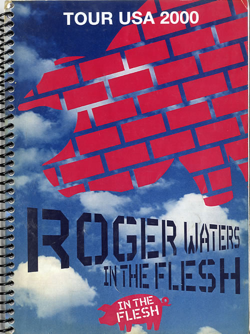 Roger Waters In The Flesh - Tour USA 2000 Itinerary UK RWAITIN612054