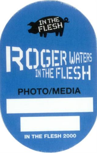 Roger Waters In The Flesh tour pass US RWATPIN427694